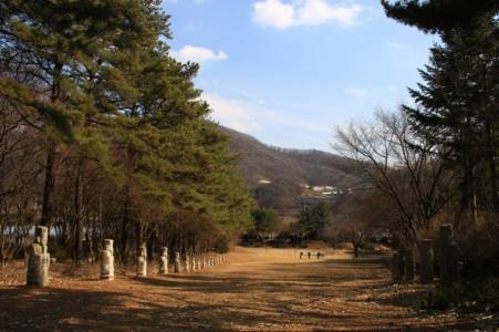 광릉추모공원 겨울이 와요~