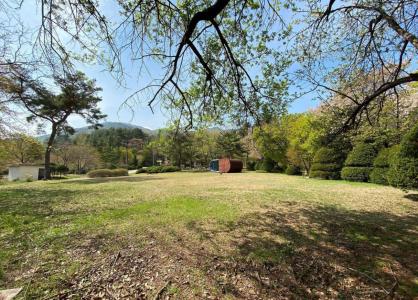 광릉추모공원의 푸른 봄